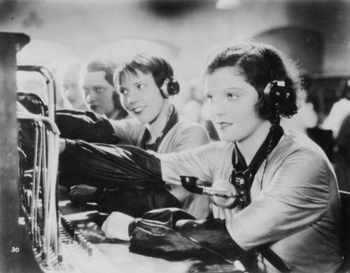 1920s Flapper Gossip Phone Operators The Girl In The
