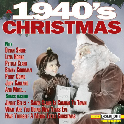 1940s christmas music cd cover