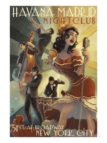1950s Havana Madrid Nightclub NYC