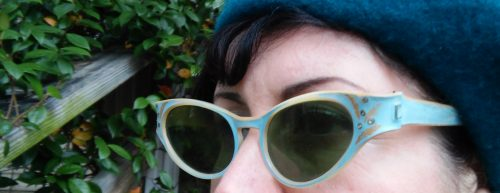 Vintage 1940s 1950s retro sunglasses