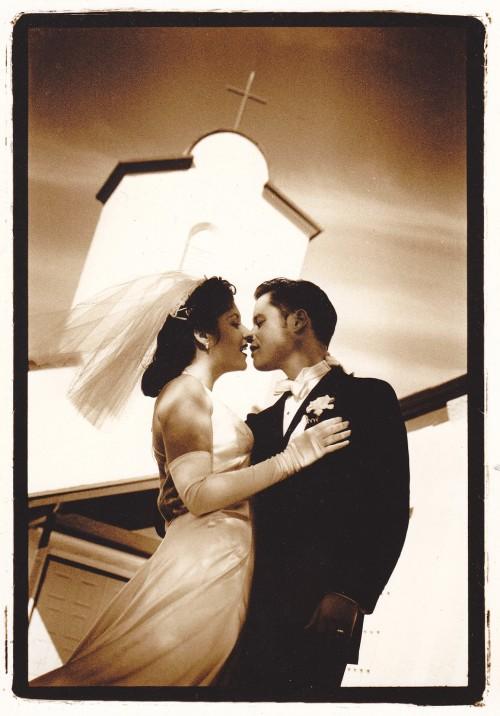 40s Wedding style photo Tam Francis
