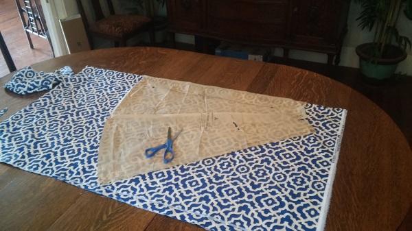 50's skirt vintage sewing for Mr. Postman