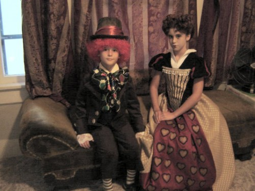 Alice in Wonderland Red Queen and Hatter