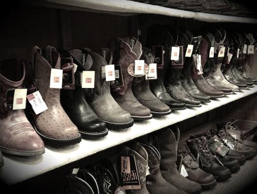 Callahan's vintage cowboy boots