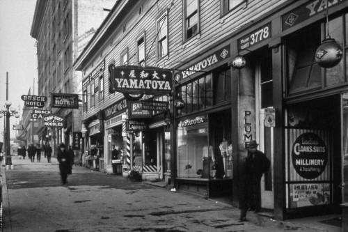 Chinatown seattle 1940s