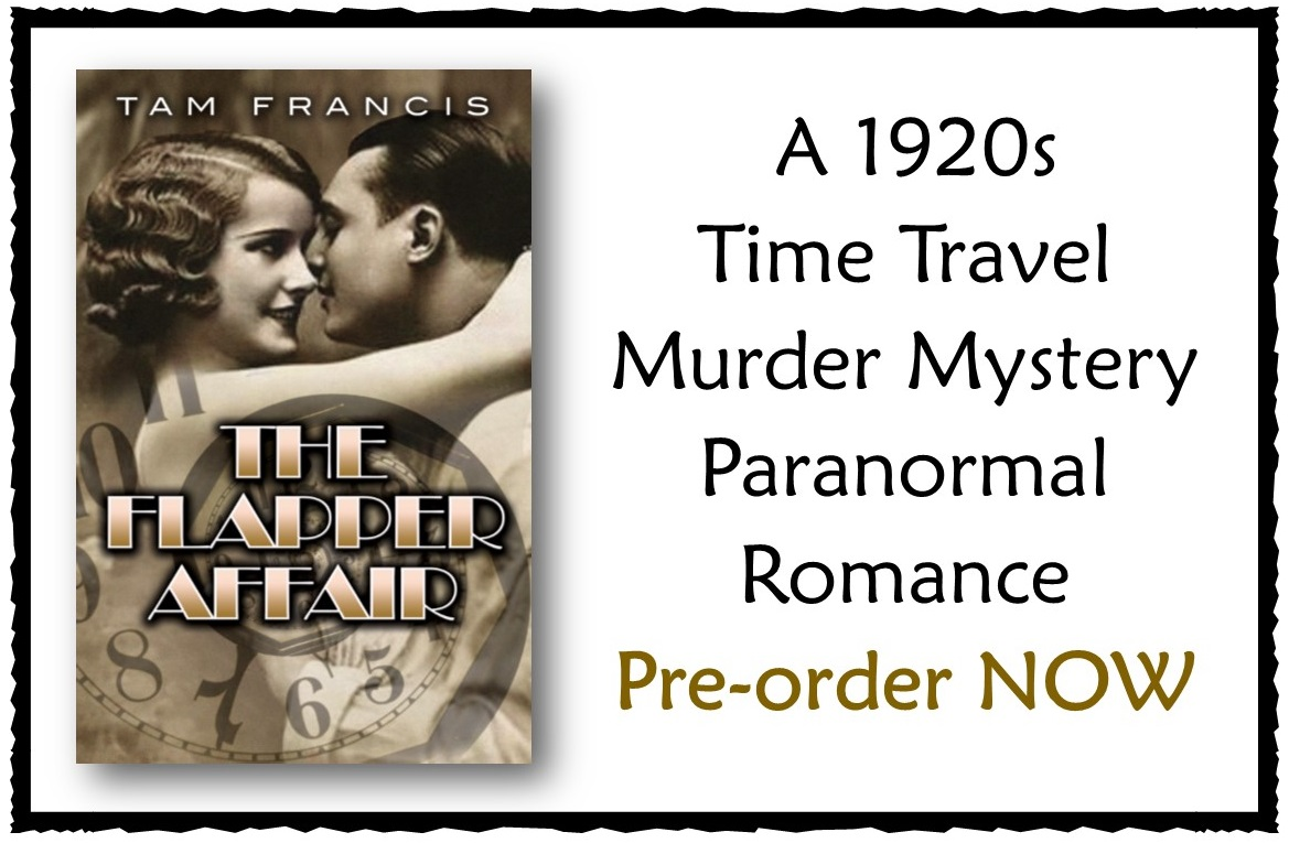 Flapper affair 1920s ghost murder mystery time travel romance