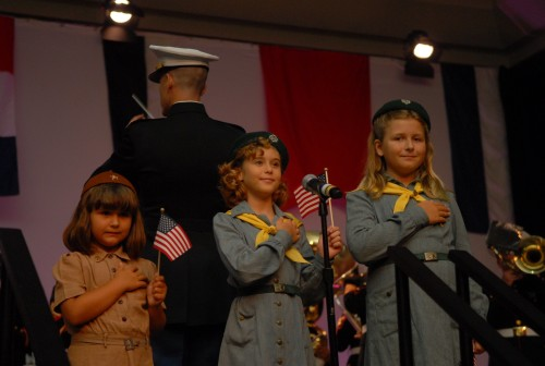 Fleet week 3 Girl Scout Vintage Ambassadors