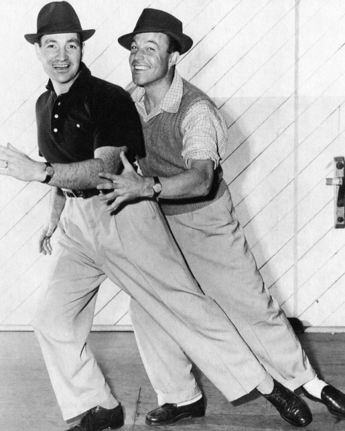 Vintage Fred and Gene Kelly