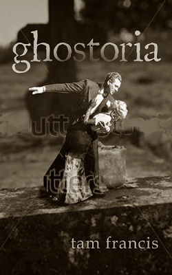 Ghostoria vintage dancing couple graveyard
