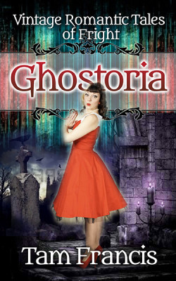 Ghostoria cover with retro girl