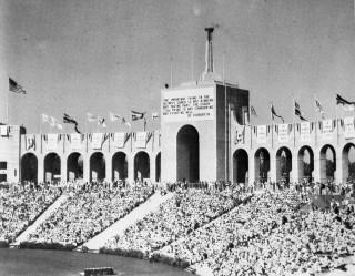 Los Angeles Memorial Colisium 1930s