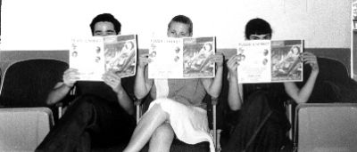 Swivel Readers reading about Camp Hollywod