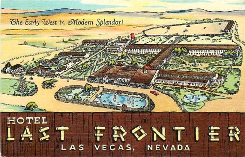 The Last Frontier Layout vintage postcard