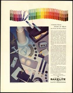 1940s bakelite ad