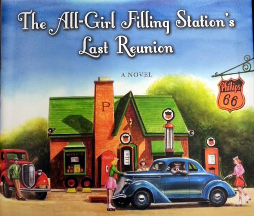 all-girl filling station novel cover 40s