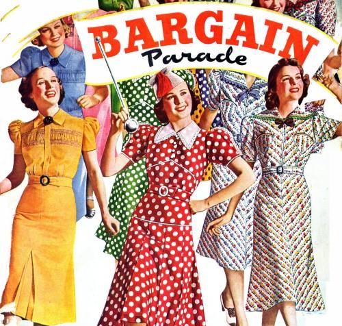 bargain-parade 40s girls