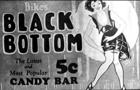black bottom candy bar Flapper affair fun facts