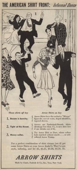 40s 50s Vintage Jitterbug Dance Ad