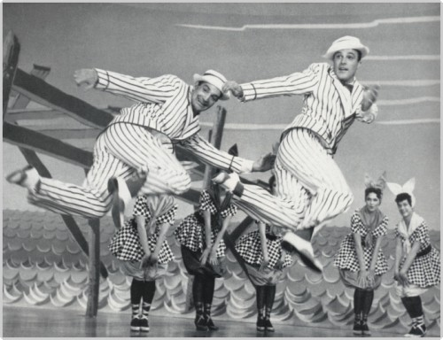 Vintge photo Fred and Gene Kelly in Memory lane