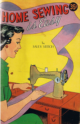 1940s 1950s vintage home sewing