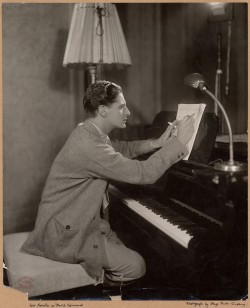 man at piano 1929 swinging jazz