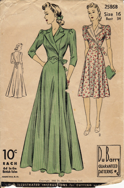 vintage sewing pattern for Turn on the heat
