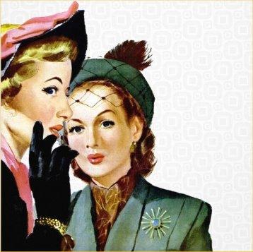 retro snobby ladies