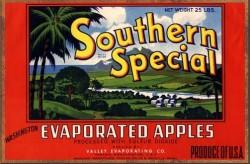 southern special vintage label