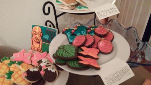 texas tiki round up cookies