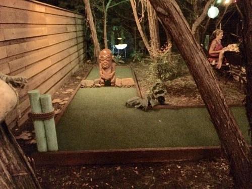 Texas tiki round up golf