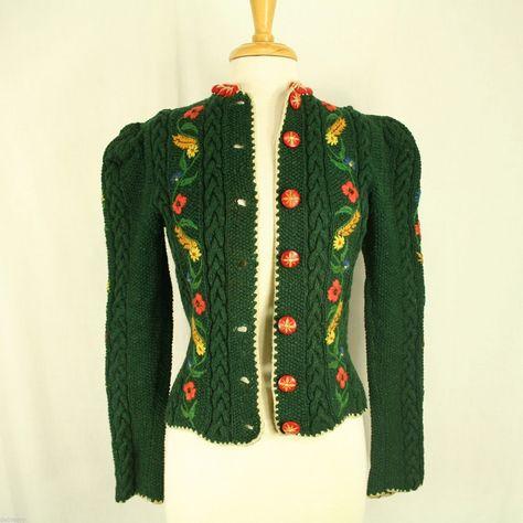 tyrolean sweater vintage