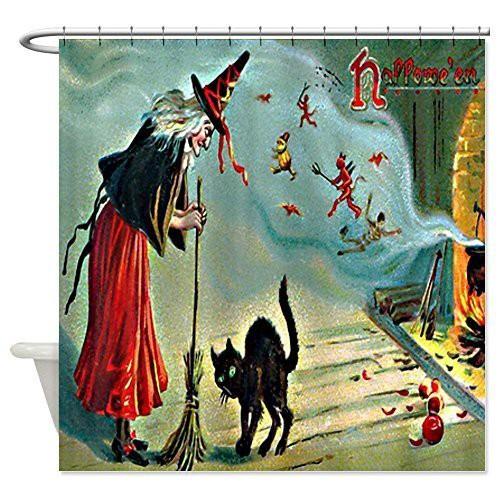 vintage-halloween-shower-curtain